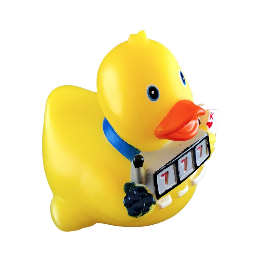 Gambling Slot Machine Rubber Duck