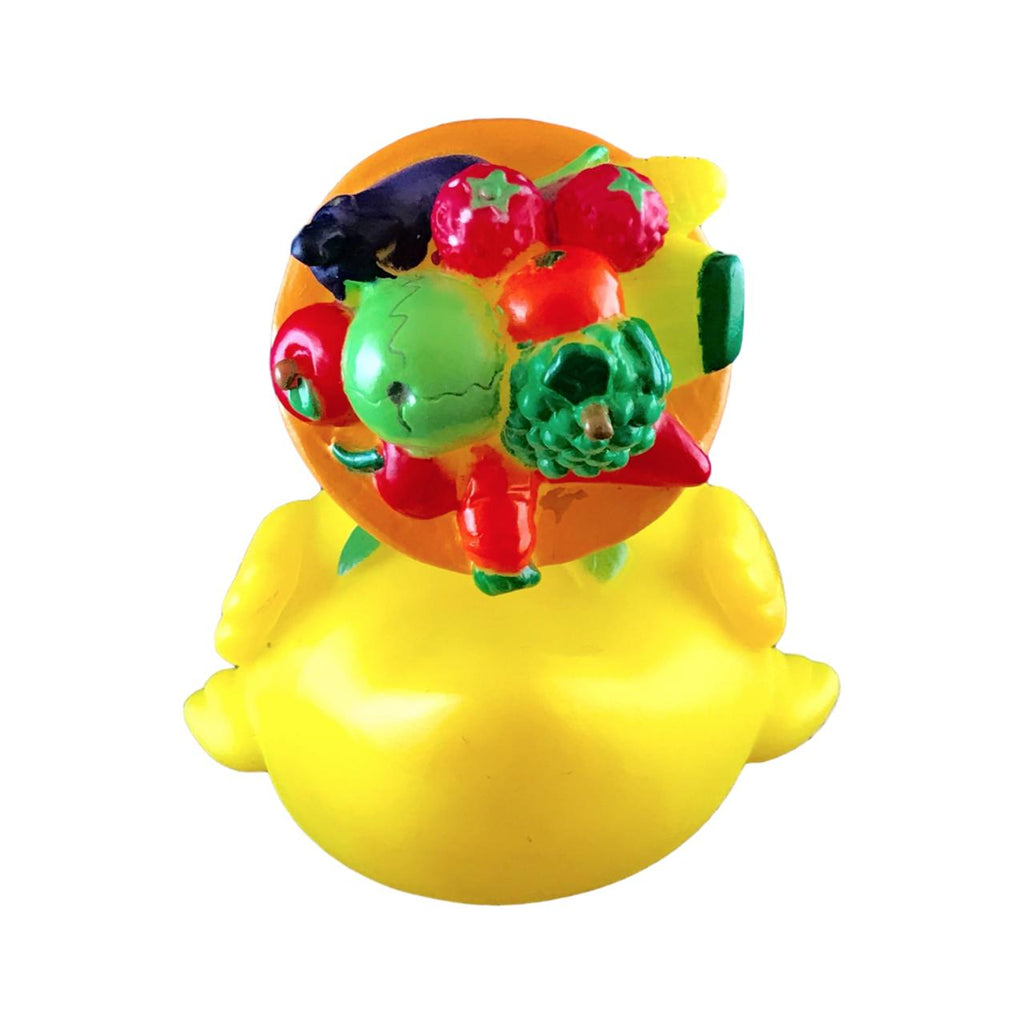 Vegetarian Fruity Rubber Duck