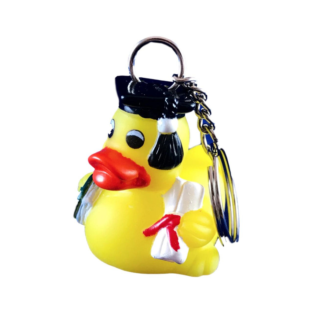 Graduation Duck Keychain