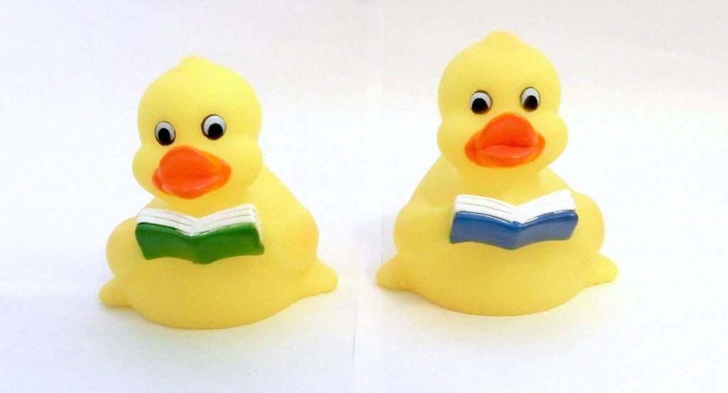 Rubber Reading Duck