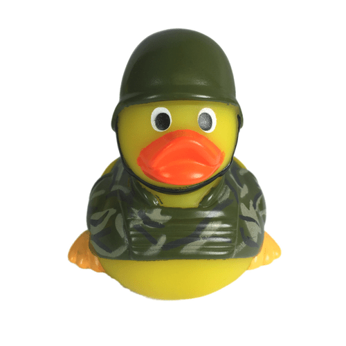 Soldier Rubber Duck