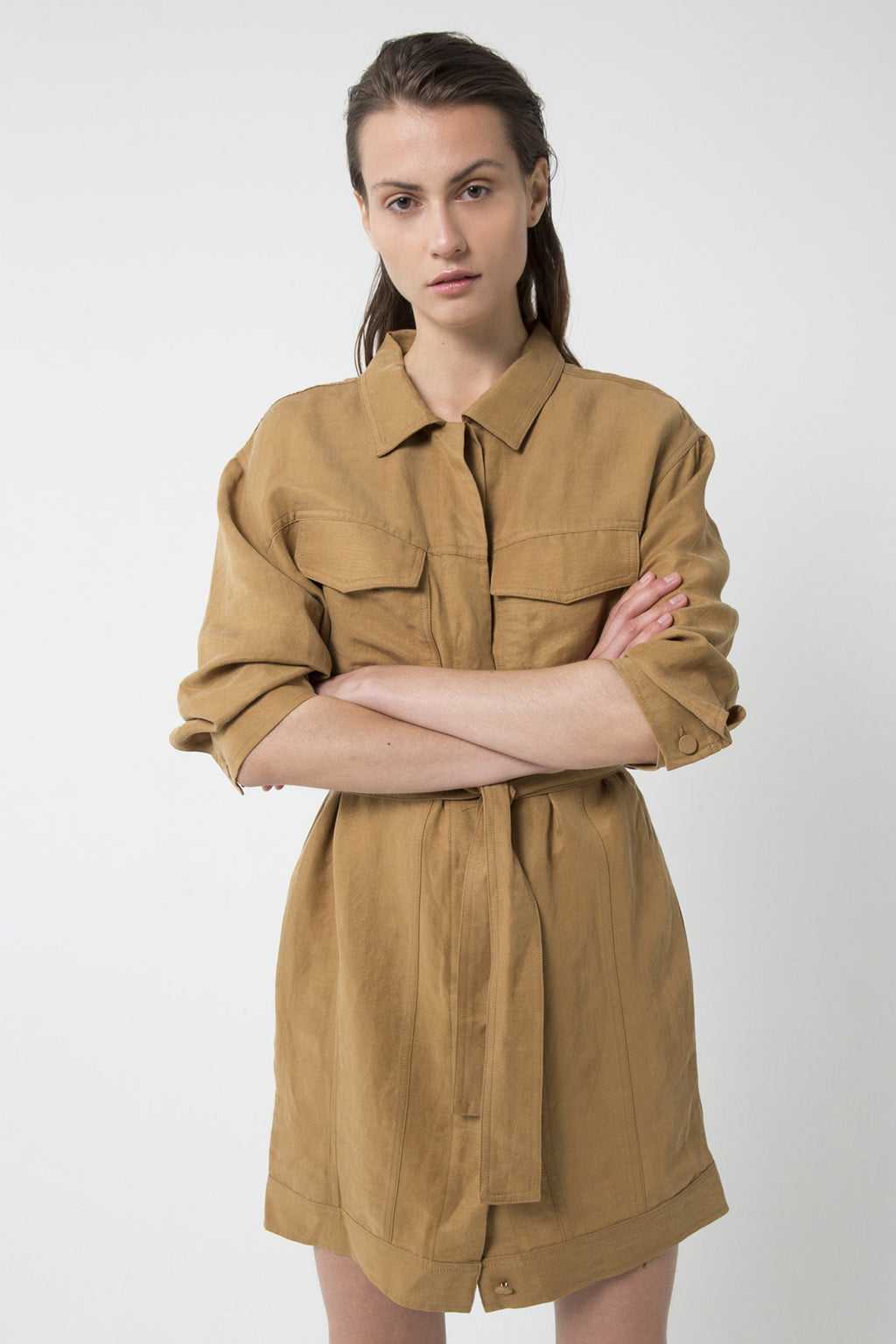 Third Form Trucker Jacket Dress