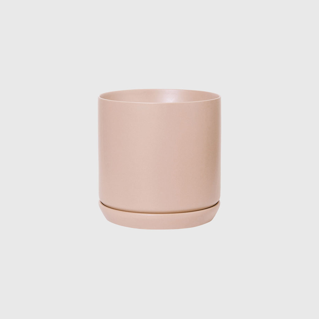 Potted LRG Oslo Planter Peach
