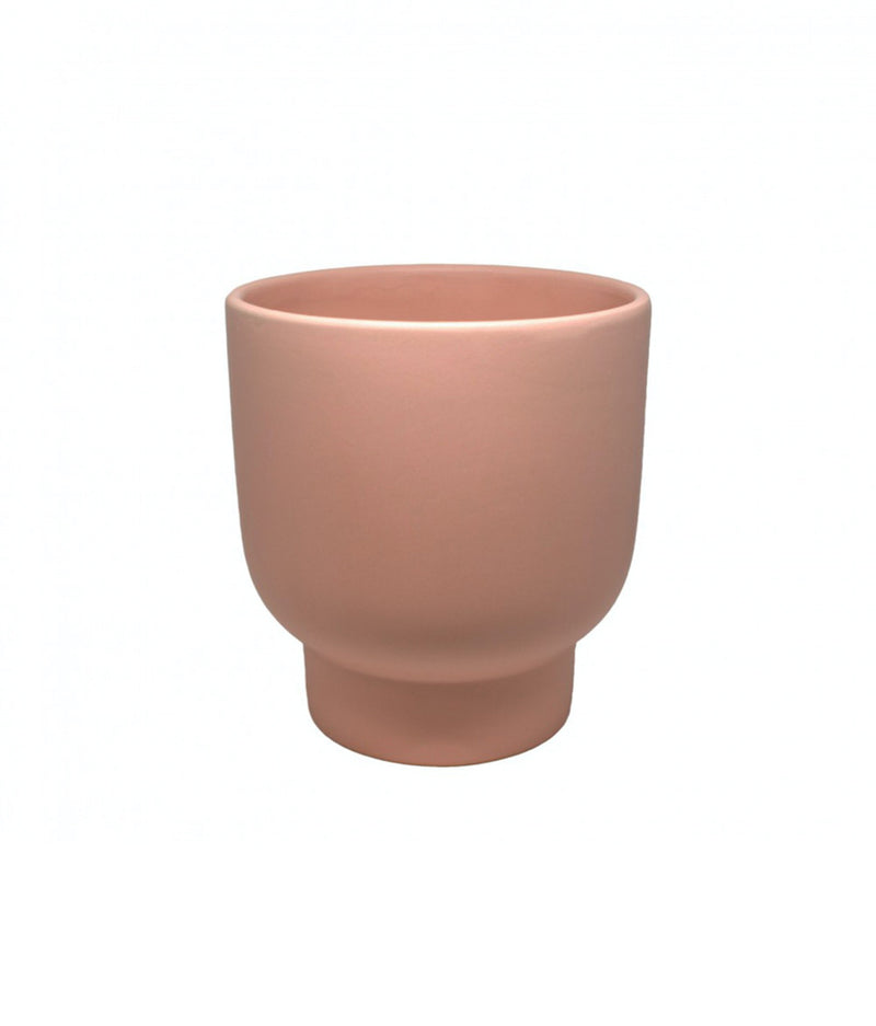 Potted LRG Stockholm Planter Dusty Rose