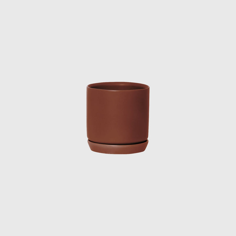 Potted SMALL Oslo Planter Brick