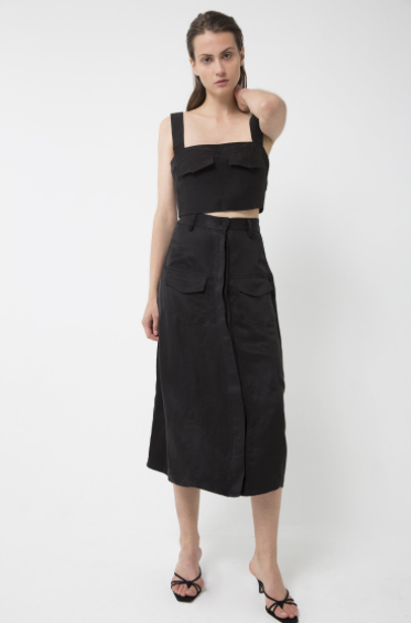 Third Form Trucker Paneled Skirt