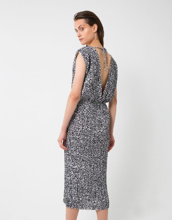 Third Form Pantha Pleat Midi Dress