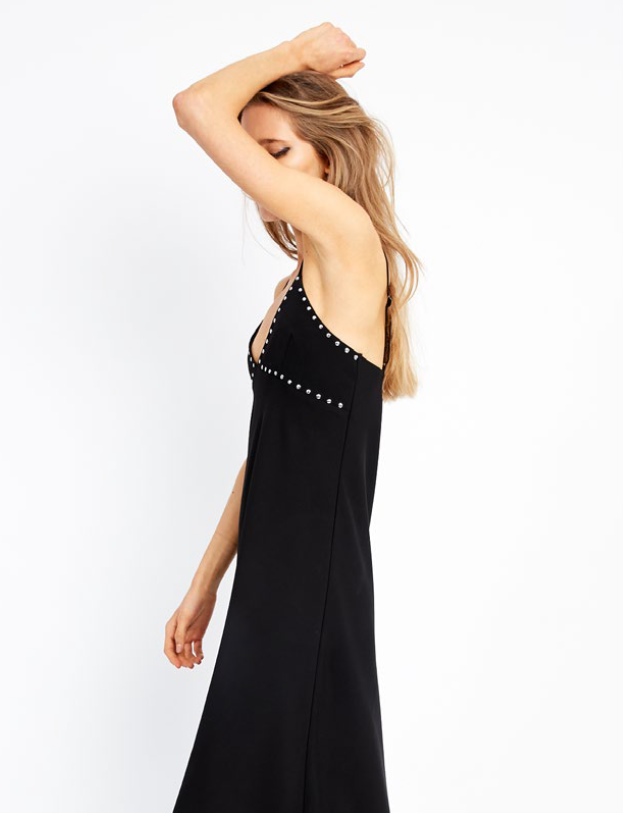 Third Form The Wonderer Bias Slip Dress