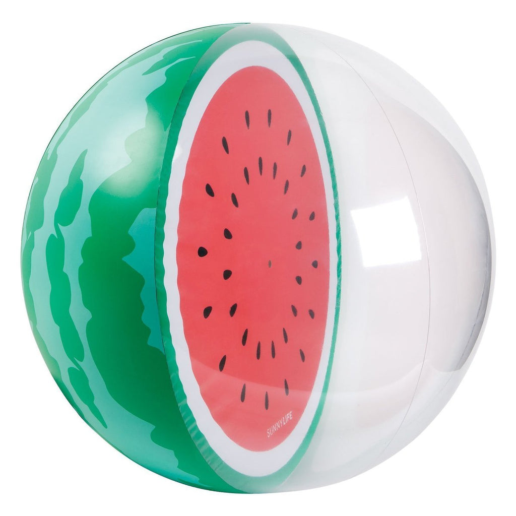 SunnyLife Inflatable Beach Ball - Watermelon