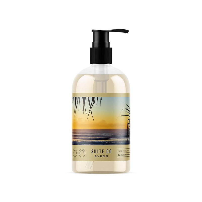 Suite Co Byron Cardamon, Mandarin and Pink Pepper Hand & Body Wash