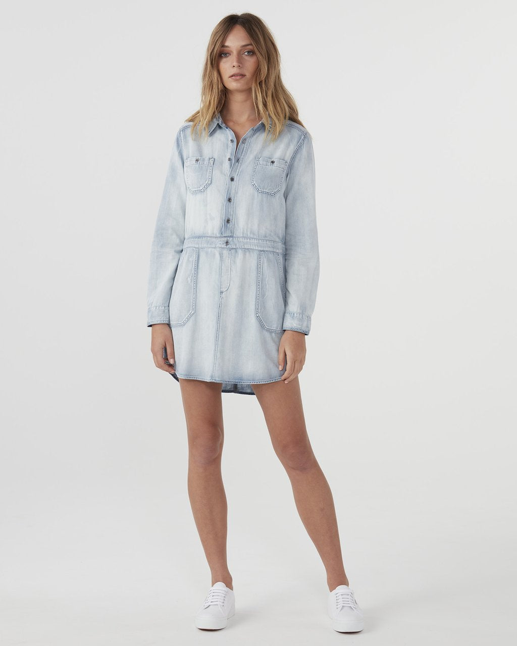 Jac + Mooki Chambray Dress