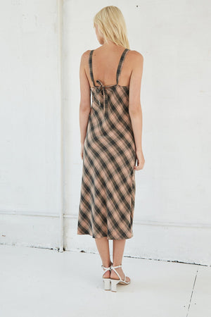 Third Form Checking Out Gather Bra Slip Dress
