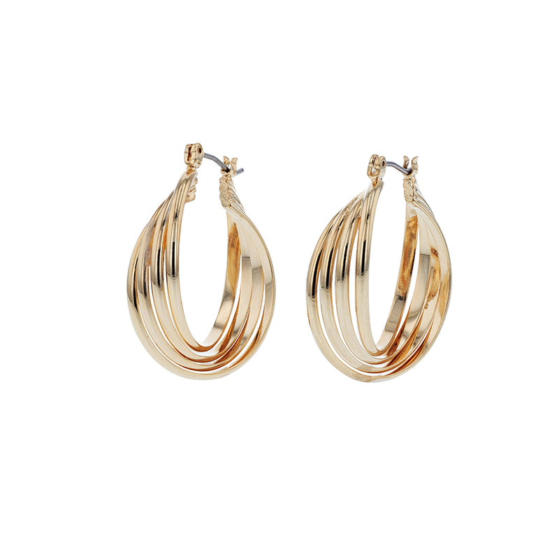 Josephine Hoop Earrings