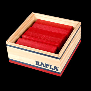 Kapla Coloured 40 piece boards box