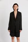 Third Form Le Mode Longline Blazer - Black