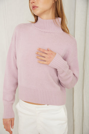 Third Form Lift Up Turtleneck - Lavender
