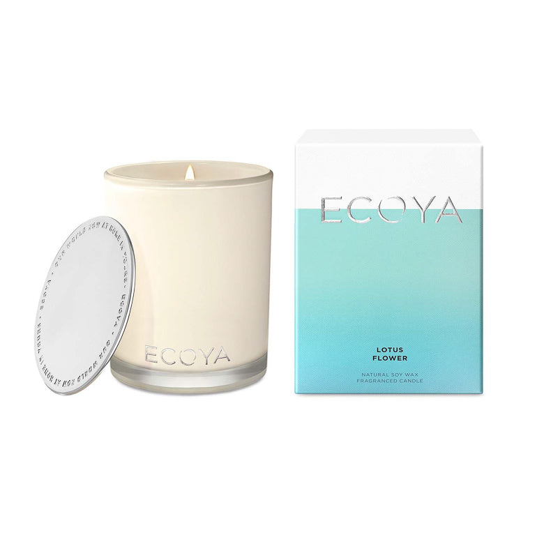Ecoya Candle Madison Jar - Lotus Flower