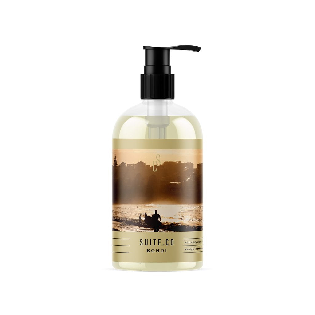 Suite Co Grapefruit, Mandarin and Sandalwood Hand and Body Wash