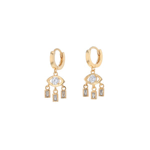 Marcie Eye Sleeper Earrings