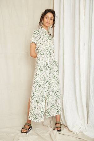 Third Form Pressed Flowers Shirt Dress - Floral