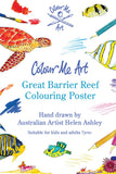 Colour Me Art Great Barrier Reef - A1 Poster tube