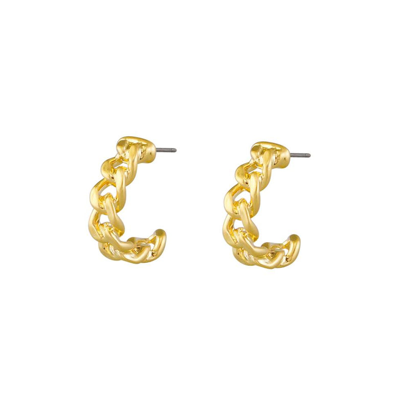 Robin Chain Hoop Earrings