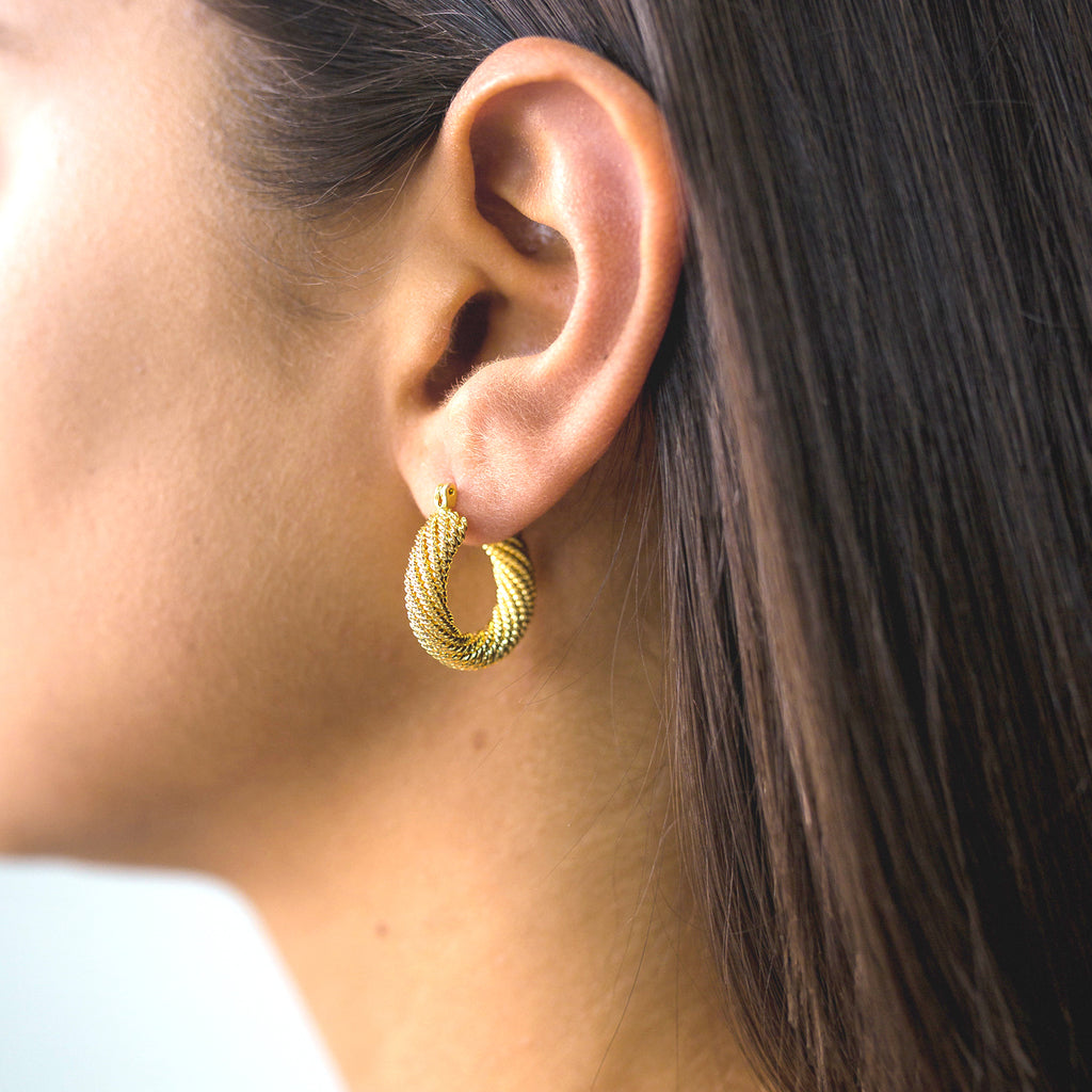 Romy Hoop Earrings