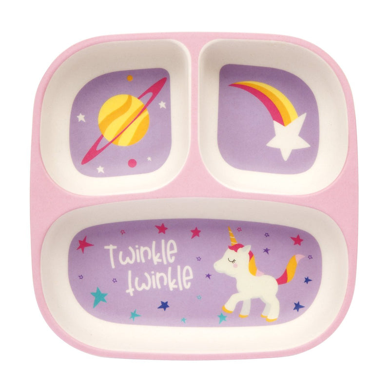 SunnyLife Eco Kids Plate - Stardust