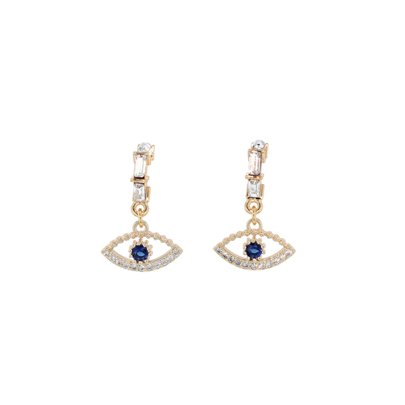 Swarovski Eye Earrings