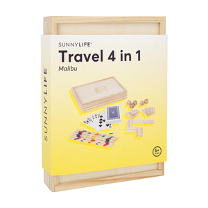 Sunnylife Travel 4 in 1 Games