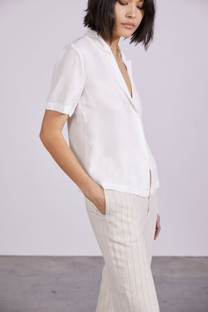 Third Form Tulip Tailored Soft Shirt - Off White