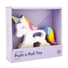 SunnyLife Unicorn Push n Pull Toy