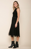 Raga Velvet Breeze Skirt - Black