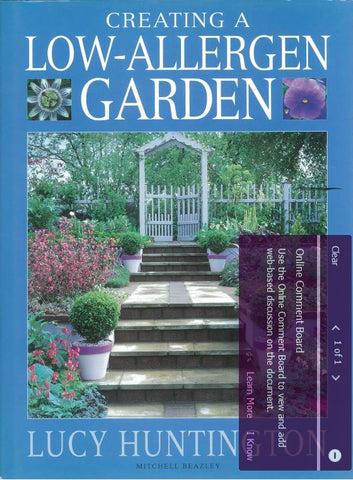 Creating a Low-Allergy Garden by Lucy Huntington