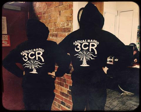 3CR Radical Radio Hoodies