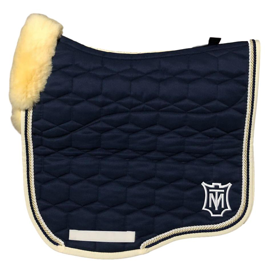 E.A Mattes Instock - L Size/Full Fleece - Navy & Champagne