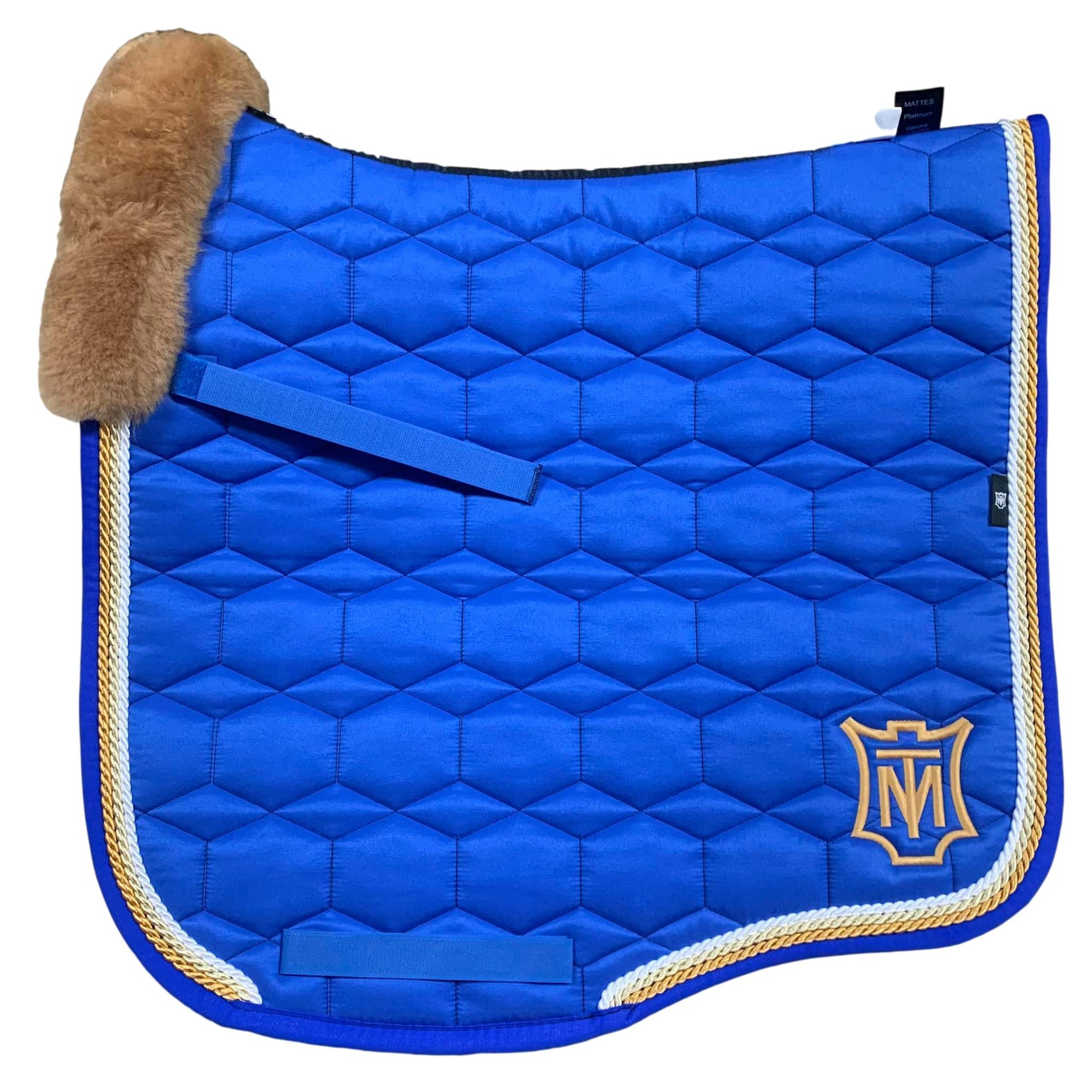 E.A Mattes Instock - L Size/Top Fleece - Royal Blue/Honey
