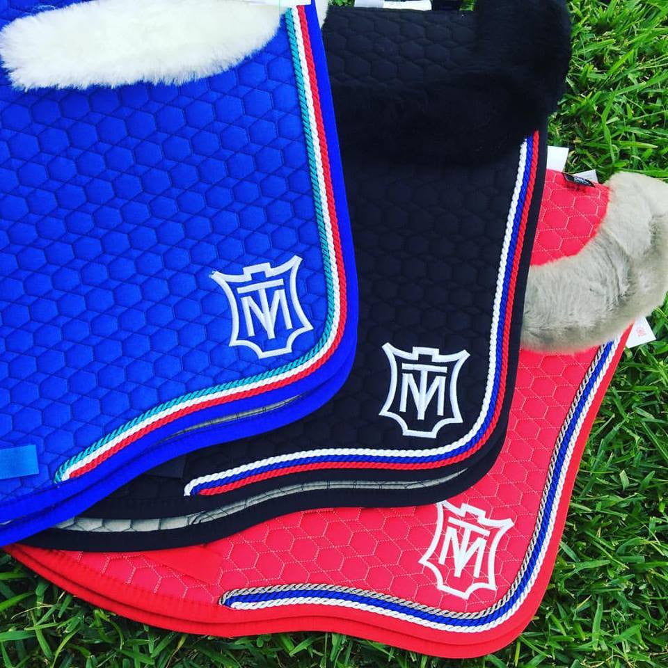 E.A Mattes Custom Saddle Pad - Hufglocken