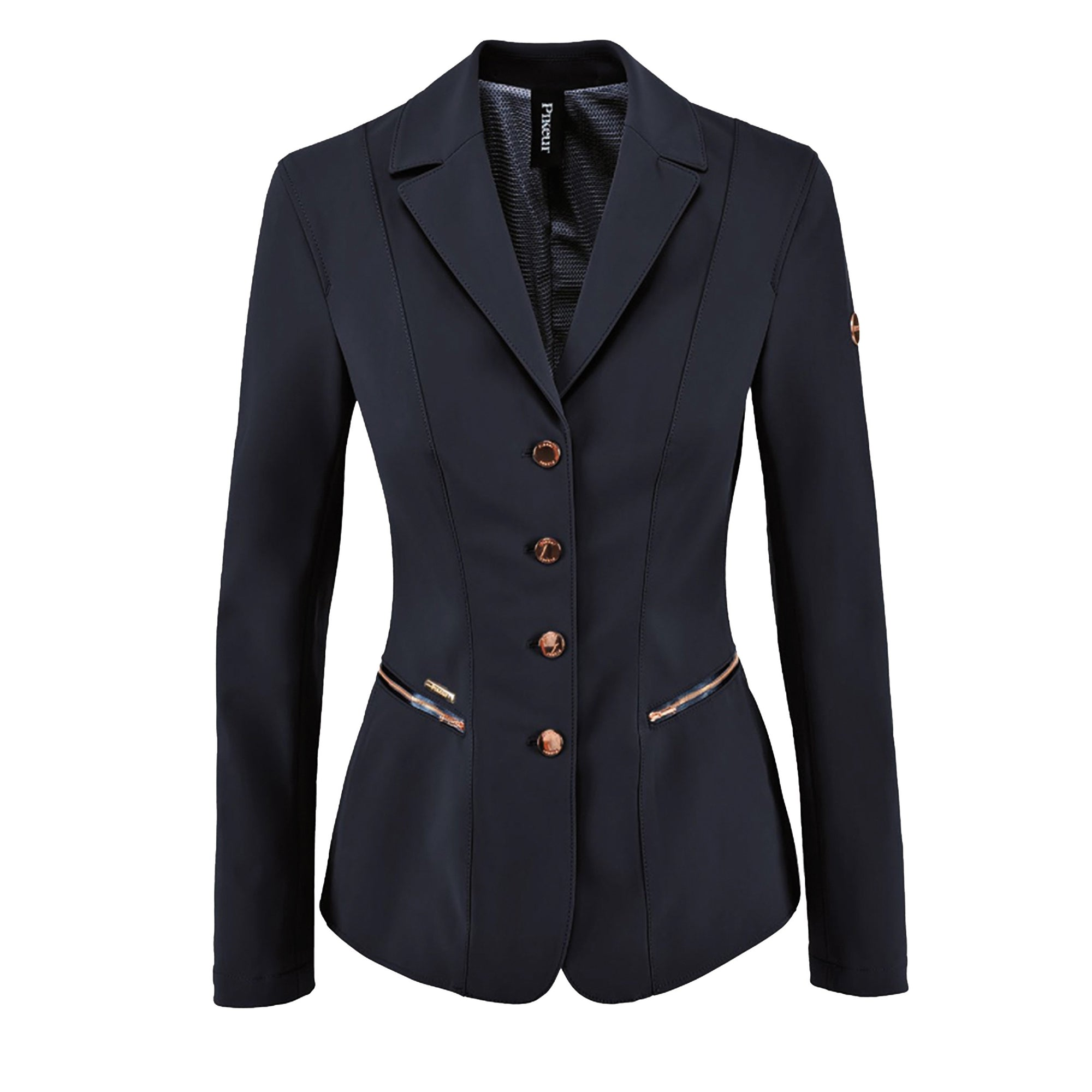 Pikeur Paulin Ladies Jacket (Navy/Rose Gold Details)