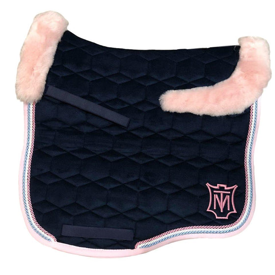 E.A Mattes Instock - XL Size/Top Fleece - Navy Velvet & Rose - Hufglocken