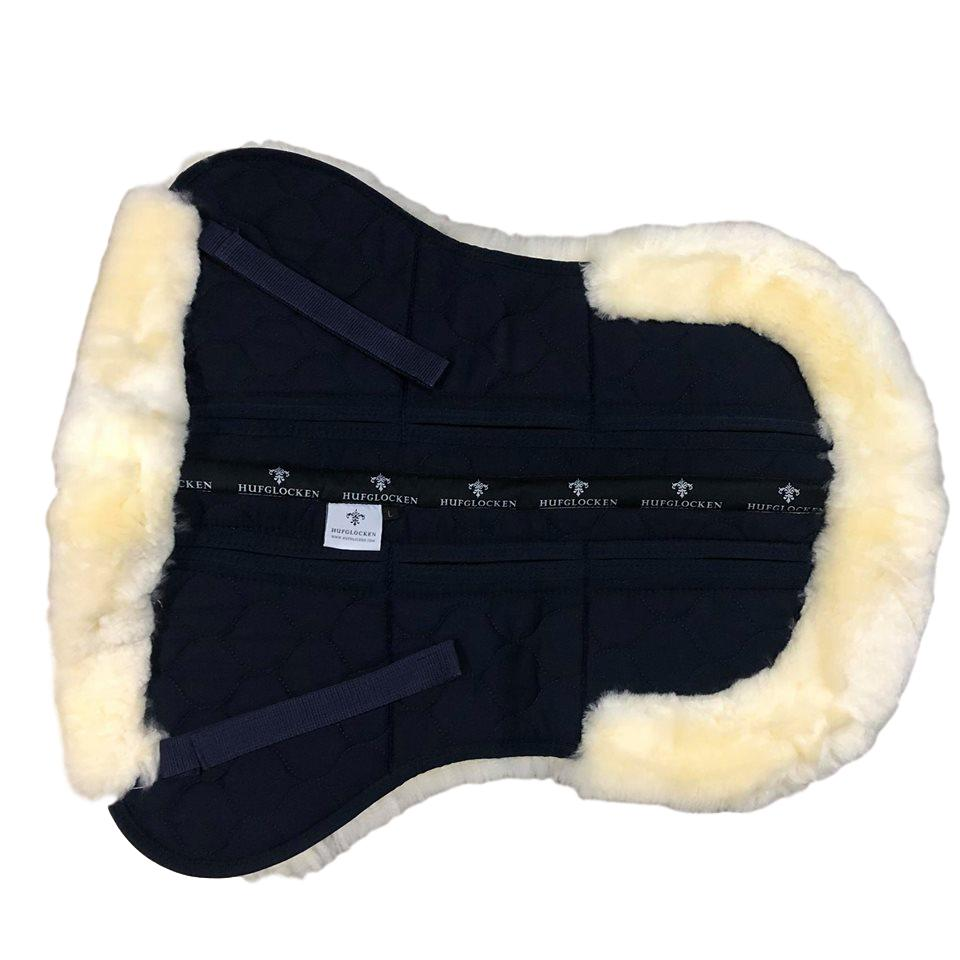 Sheepskin + Correctional Half Pad - Natural/Navy