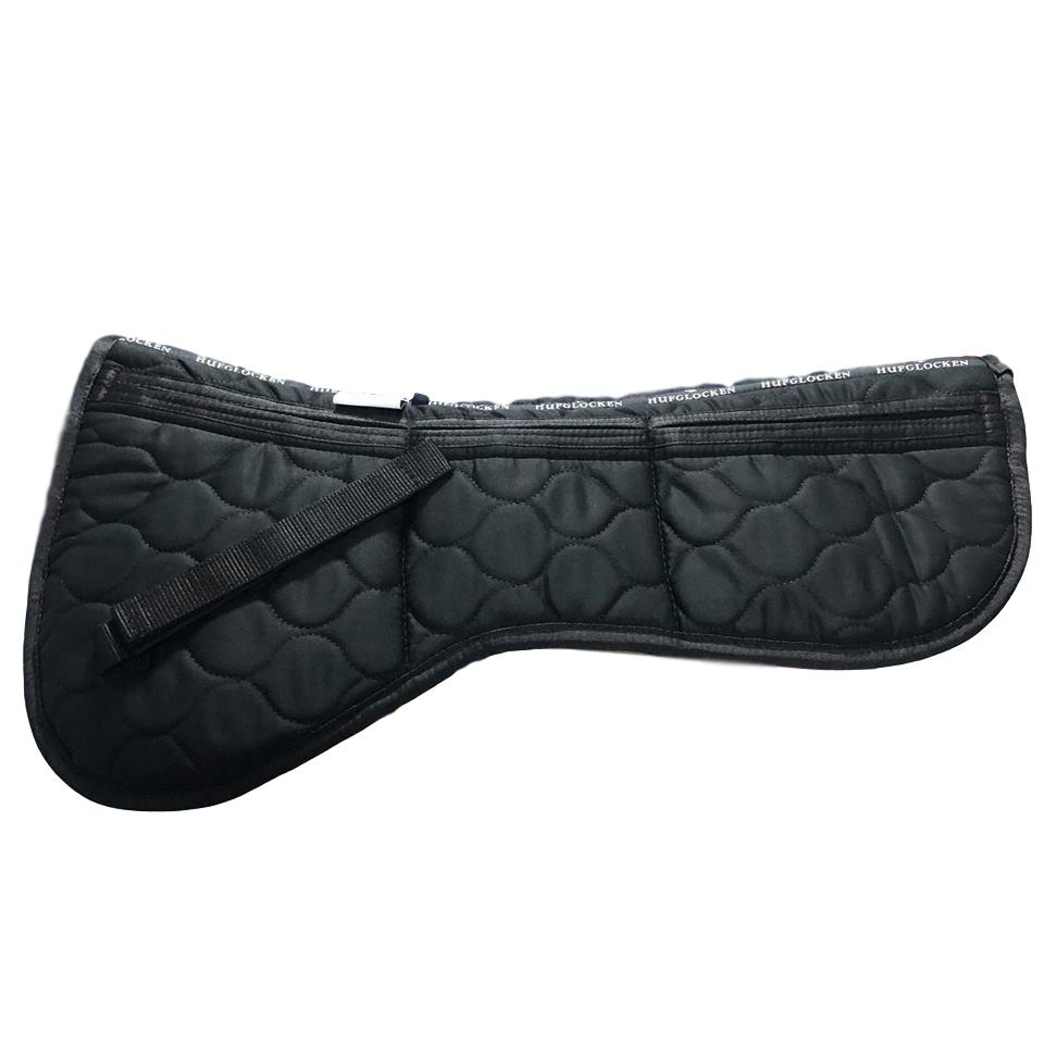 Cotton Correctional Half Pad - Black