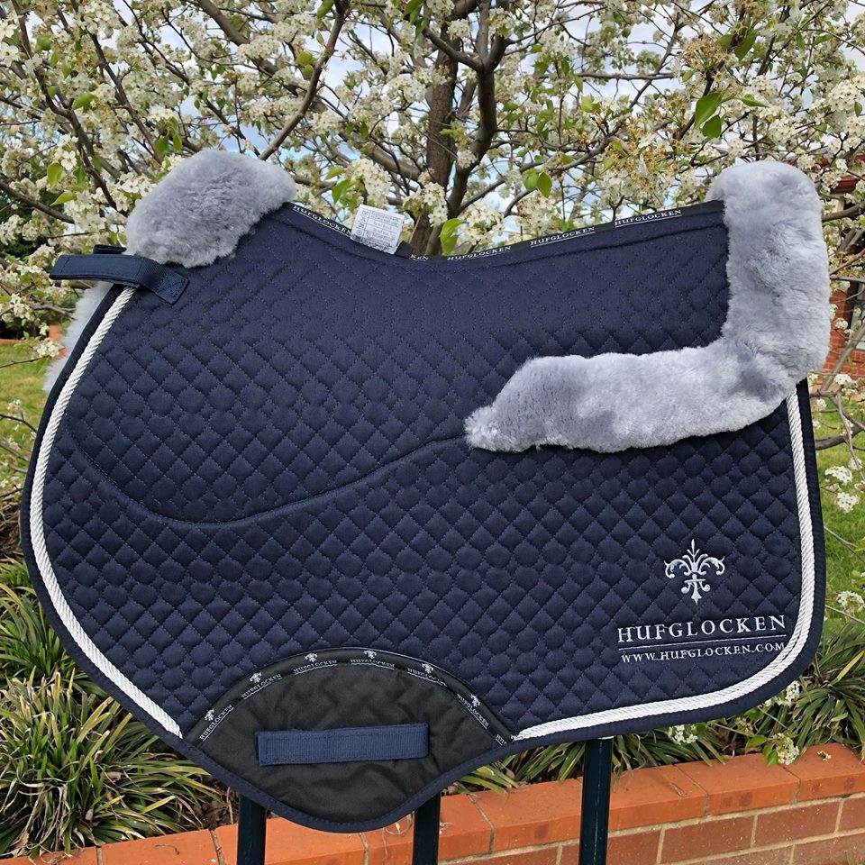 Stadium Sheepskin Saddle pads - Various Colours [PRE ORDER]
