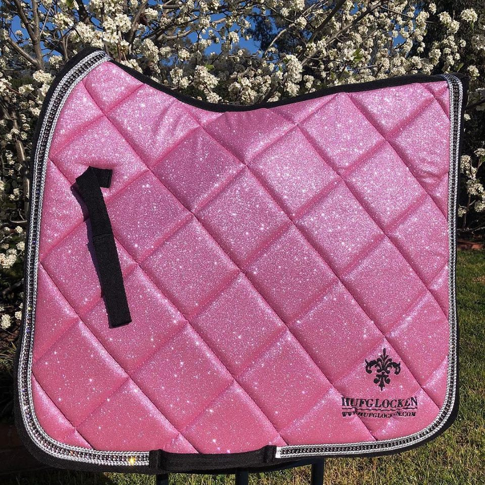 Diamant Pink Saddle Pad (ORDERABLE)