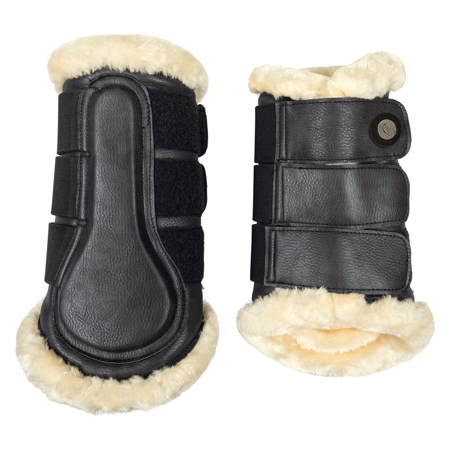 Cheval de Luxe Black Tendon Boots
