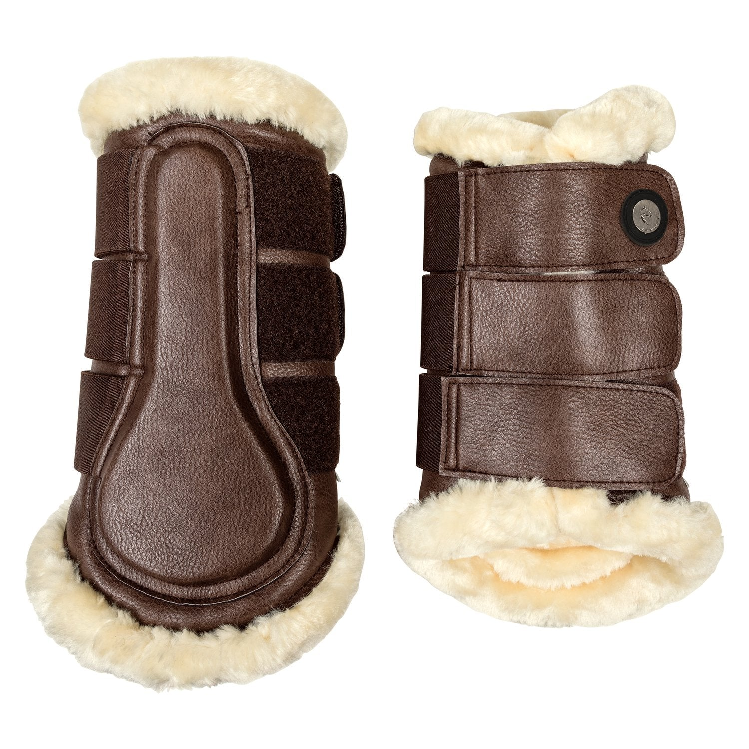 Cheval de Luxe Brown Tendon Boots