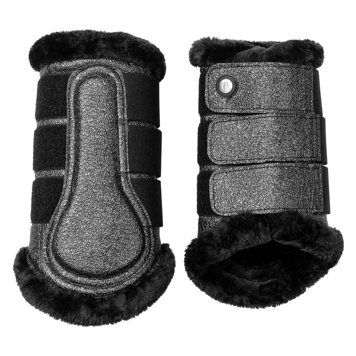 Cheval de Luxe Charcoal Tendon Boots
