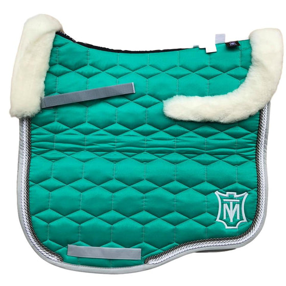 E.A Mattes Instock - L Size/Top Fleece - Emerald Sheen & Silver