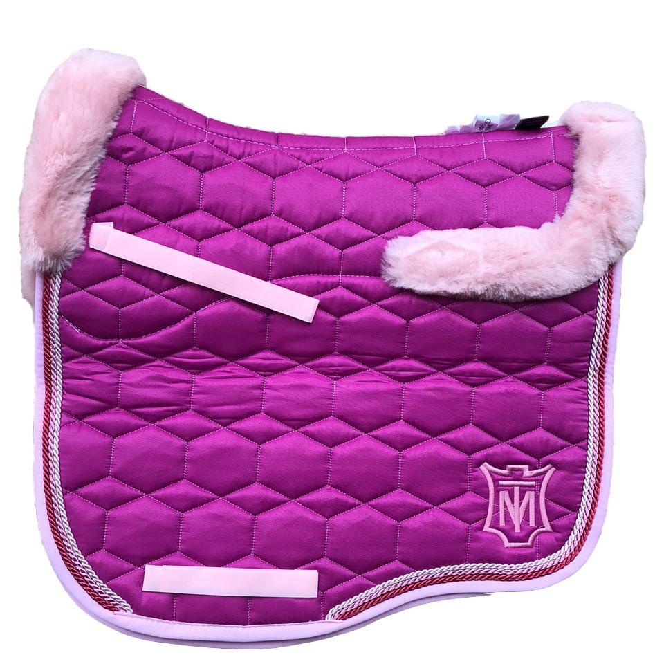 E.A Mattes Instock - S Size/Full Fleece - Fuchsia & Rose Sheen