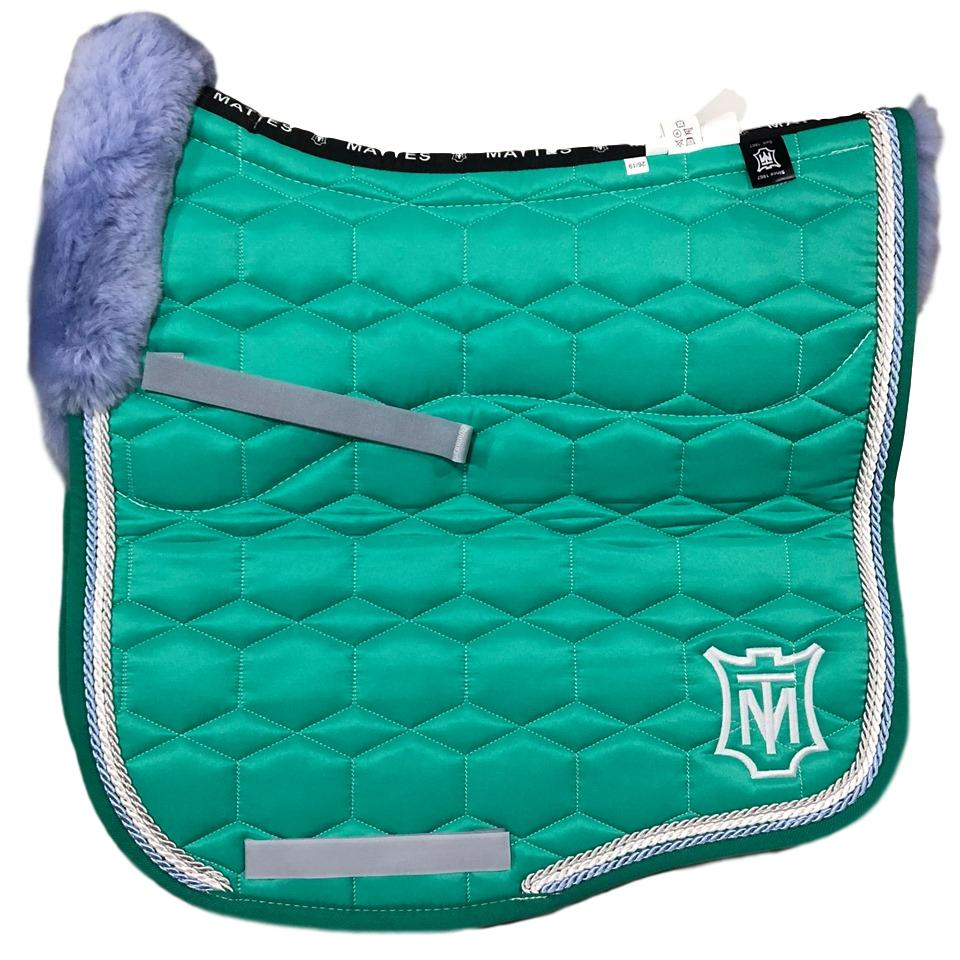 E.A Mattes Instock - L Size/Full Fleece - Emerald Sheen & Blue